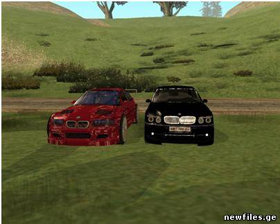 New Cars GTA Sanandreas